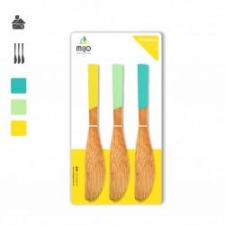 Untadores Madera de Bambu Kit x 3