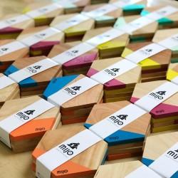 Posavasos Hexagonales de Madera pack x 4