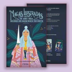 Libro Magas Ilustradas - Libro de Tarot + Mazo Ilustrado