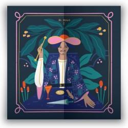 Pañuelo de Seda 50 x 50 Tarot