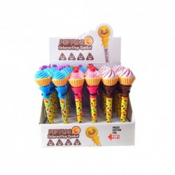 Lapicera Explusable Cupcakes