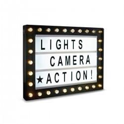 Cartel Luminoso Hollywood