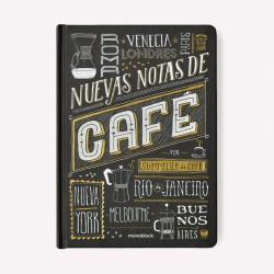 Cuaderno/Bitácora Notas de Cafe por Nicolás Artusi
