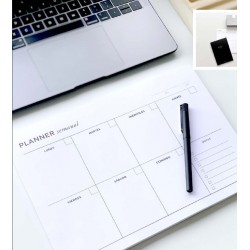 Organizador/Planificador Semanal A4