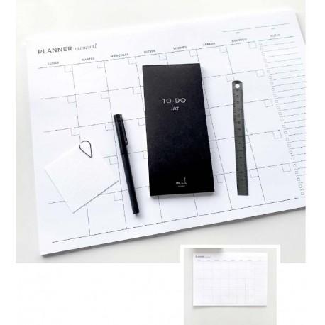 Organizador/Planificador Mensual A3