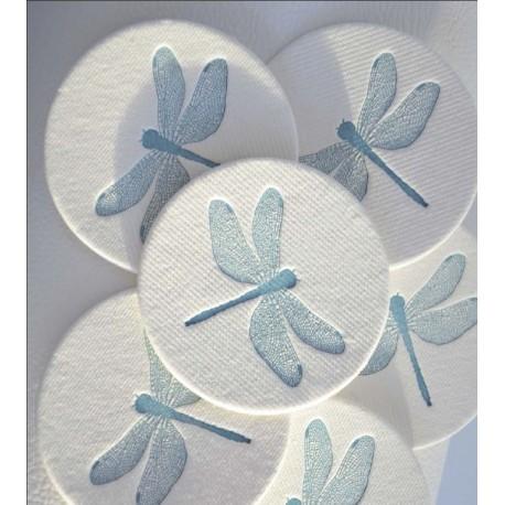 Possavasos Letterpress pack por 6 Diseños Varios