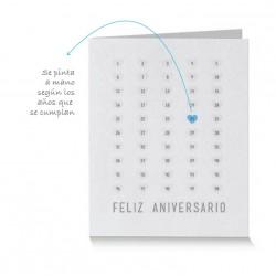 Tarjeta de Saludo Letterpress