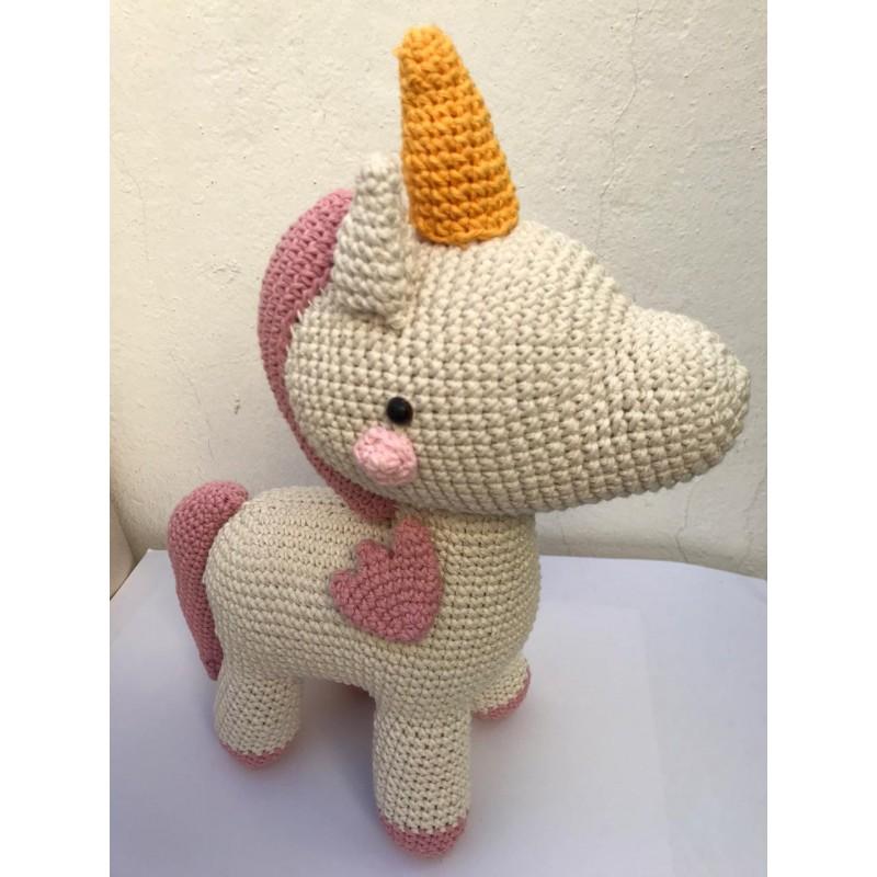 Mimi the Friendly Unicorn pattern by Michelle Alvarez | Crochet ... | 800x800