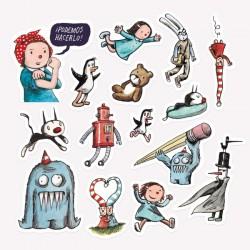 Pack de Stickers Macanudo.