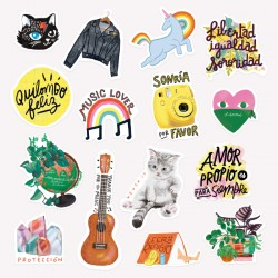 Pack de Stickers Happimess.