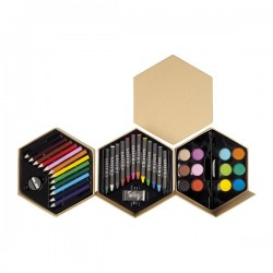 Set de Pinturas Hexagonal