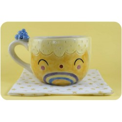 Tazón de Ceramica Artesanal Nena Isabella