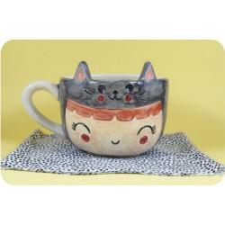 Tazón de Ceramica Artesanal Nena Suga