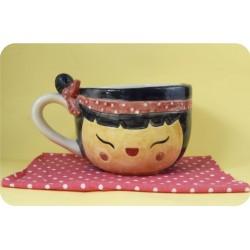 Tazón de Ceramica Artesanal Nena Coco