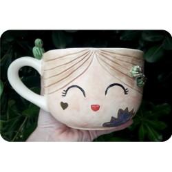 Tazón de Ceramica Artesanal Nena Milo