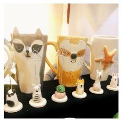 Portafotos de Ceramica Artesanal