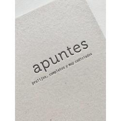 Cuaderno Letterpress A4 Universitario