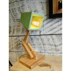 Lampara/Velador Artesanal Flexible Pixar