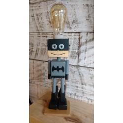 Lampara/ Velador Artesanal Batman.