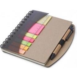 Sticky Memo Cuaderno Regla