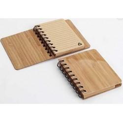Cuaderno Madera con Hojas Recicladas