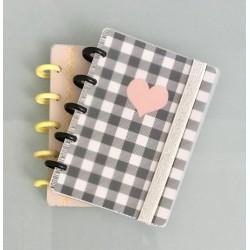 Cuaderno Booki A6 Discos Chicos 80 hojas
