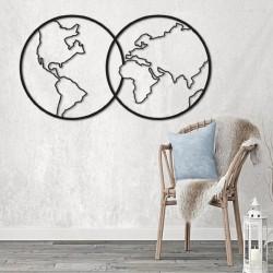 Mapa Dos Mundos.