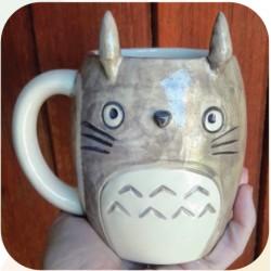 Taza Chopp de Ceramica Artesanal Totoro