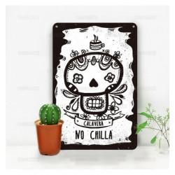 Cartel Clavera No Chilla.