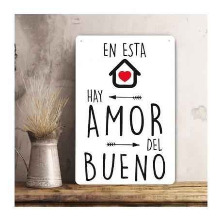 Cartel Amor del Bueno.