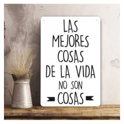 Cartel Las Mejores Cosas.