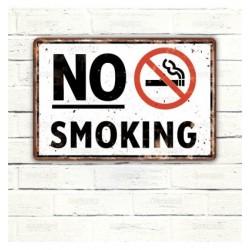 Cartel No Smoking.