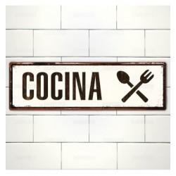 Cartel Cocina.