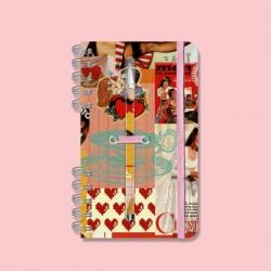 Cuaderno Anillado Chico con Lapicera Natise.